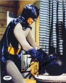 ADAM WEST BATMAN Signed PSA DNA Certified 8X10 Photo Autograph Authentic