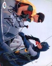 ADAM WEST BURT WARD BATMAN Signed PSA DNA CERTED 8X10 Photo Autograph