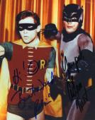 ADAM WEST BURT WARD BATMAN Signed PSA DNA COA 8X10 Photo Autograph