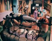 Adam West Burt Ward Dual Signed Autographed 8X10 Photo Batman Tied Up JSA