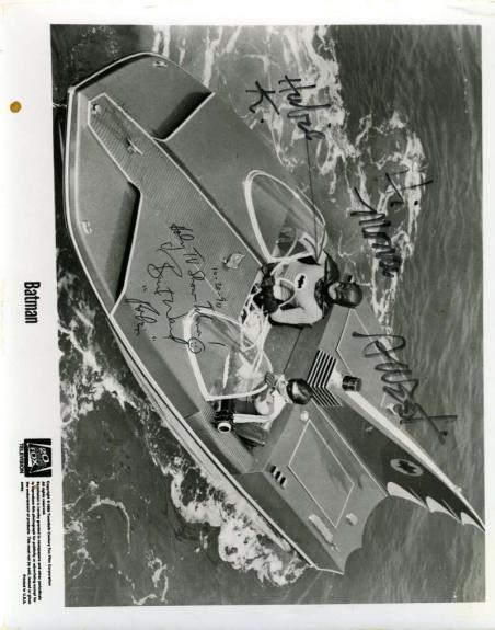 Adam West Burt Ward Hand Signed Psa Dna Vintage 8x10 Photo Autographed Authentic