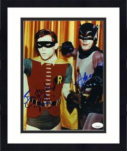 Adam West Burt Ward Jsa Coa Hand Signed 8x10 Batman Photo Autograph