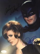 Adam West & Jill St John Signed Batman 8x10 Photo Autograph Jsa Coa