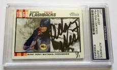 Adam West Original 1966 Batman Signed Custom CARD #'d 1/1 PSA/DNA Slabbed