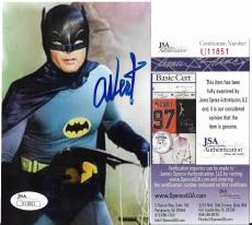 Adam West Original Batman Signed Autographed 4x6 Photo Rare Jsa Coa #u11851