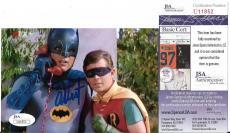 Adam West Original Batman Signed Autographed 4x6 Photo Rare Jsa Coa #u11852