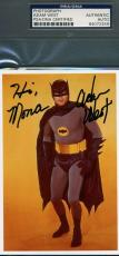 ADAM WEST PSA DNA Coa Hand Signed Batman Photo Authentic Autograph