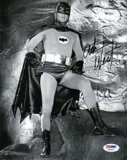 ADAM WEST SIGNED AUTOGRAPHED 8x10 PHOTO BATMAN AND ROBIN PSA/DNA