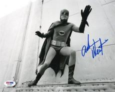 ADAM WEST SIGNED AUTOGRAPHED 8x10 PHOTO BATMAN AND ROBIN PSA/DNA