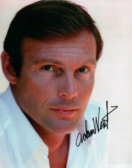 Adam West Signed Autographed 8X10 Photo Batman Classic Color Headshot w/ JSA