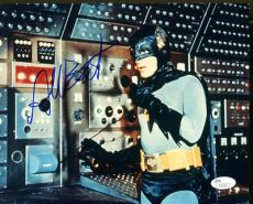 ADAM WEST SIGNED AUTOGRAPHED BATMAN 8x10 PHOTO JSA #J71265