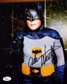"""ADAM WEST Signed Autographed """"Batman"""" 8x10 Photo JSA #N65298"""