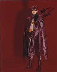 Adam West Signed Autographed Batman Color Photo Bam Zoom!!