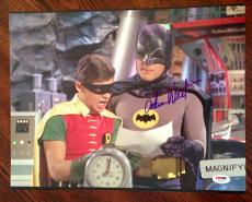 "Adam West ""THE REAL BATMAN"" Signed 11x14 Photo PSA/DNA COA"