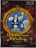 Adams Family Cast X20 Autographed Signed Musical Poster UACC RD COA AFTAL