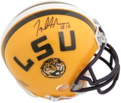 Joseph Addai LSU Tigers Autographed Riddell Mini Helmet