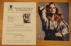Adele Adkins Signed Autographed 8x10 Photo Hello 25 Beckett BAS COA