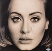 Adele Autographed 25 Vinyl Cover - PSA LOA