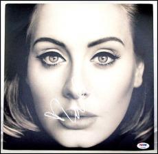 Adele Autographed Signed 25 Vinyl Record Album Hello Psa/dna Psa Loa Coa