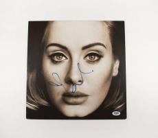 Adele Autographed Signed Album LP Record Certified Authentic PSA/DNA COA