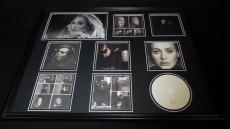 Adele Framed 18x24 25 CD & Photo Display