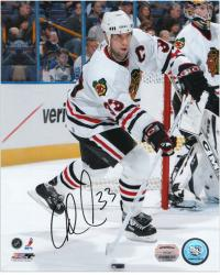 "Adrian Aucoin Chicago Blackhawks Autographed 8"" x 10"" By Net Photograph"