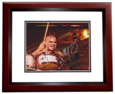 Signed Adrian Young Photograph - NO DOUBT Drummer 8x10 MAHOGANY CUSTOM FRAME