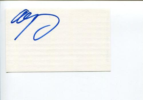Adrian Young No Doubt Drummer Signed Autograph