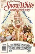 ADRIANA CASELOTTI (Voice of SNOW WHITE) Autographed Comic