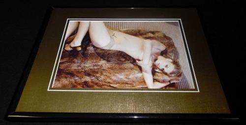 Adrianne Palicki Topless Heels Framed 11x14 Photo Display