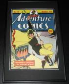 Adventure Comics #48 Hour Man Framed 10x14 Cover Poster Photo DC Comics