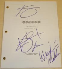 Adventureland Autographed Full Script by Kristen Stewart, Kristin Wiig, and Wendie Malick