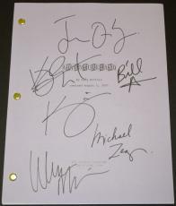 ADVENTURELAND Autographed Script by Jesse Eisenberg, Kristen Stewart, Kristen Wiig, Michael Zegen, Bill Hader, and Wendie Malick