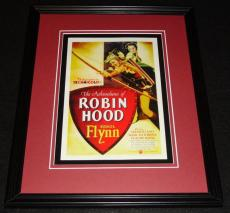 Adventures of Robin Hood Framed 11x14 Poster Display Official Repro Errol Flynn