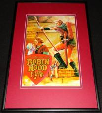 Adventures of Robin Hood Framed 12x18 Poster Display Official Repro Errol Flynn