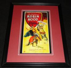 Adventures of Robin Hood Framed Poster Display Official Repro Errol Flynn