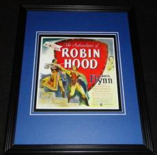 Adventures of Robin Hood Framed Poster Display Official Repro Errol Flynn B