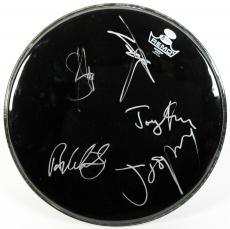 Aerosmith (5) Tyler, Perry, Kramer +2 Signed 16.5 Inch Drumhead BAS #A05109
