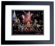 Aerosmith 11x14 BLACK CUSTOM FRAME by Steven Tyler Tom Hamilton Joey Kramer Brad Whitford