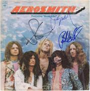 Aerosmith Autographed Aerosmith Album with 5 Signatures - JSA