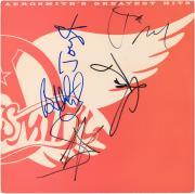 Aerosmith Autographed Greatest Hits Album with 5 Signatures - JSA
