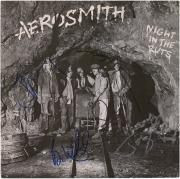 Aerosmith Autographed Night in the Ruts Album with 5 Signatures - JSA