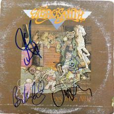 Aerosmith Autographed Signed Toys in Attic Album & Proof UACC AFTAL