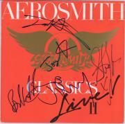 Aerosmith Autographed The Classic Live! II Album with 5 Signatures - BAS