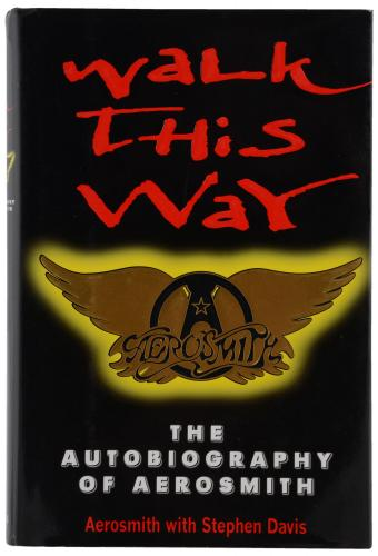 Aerosmith Autographed Walk This Way Book - BAS
