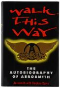 Aerosmith Autographed Walk This Way Book - BAS