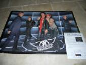 Aerosmith Band Signed Autographed 24x36  Poster PSA Certified x5 Tyler, Perry +3