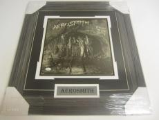 Aerosmith Band Signed Autographed Framed Night In The Ruts RECORD ALBUM Jsa Loa