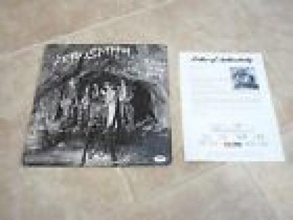 Aerosmith Band Signed Autographed Night In The Ruts LP Album All 5 PSA Certified