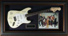 Aerosmith - Laser Engraved Signature Framed Guitar